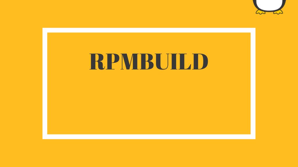 rpmbuild