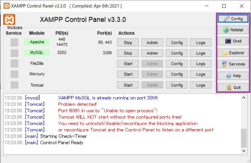 XAMPP-controlpanel3